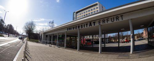 Uni Erfurt - Foto: Mathias Birsens